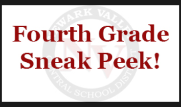 Fourth Grade Sneak Peek