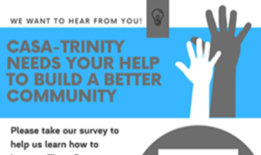 CASA-Trinity Wants to Hear from You!