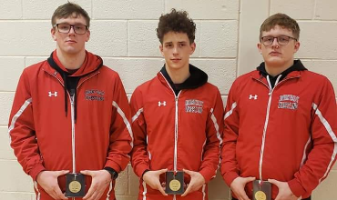 NV Wrestlers Clinch 2nd Place in IAC's