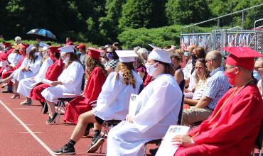 Graduates on Field