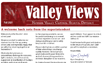Back to School Edition of Valley Views