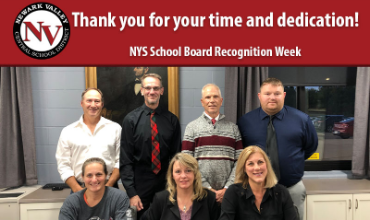 New York State School Board Recognition Week is Oct. 19-23