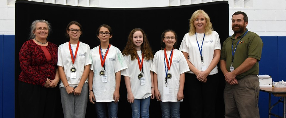 Newark Valley team wins 2nd place in engineering contest