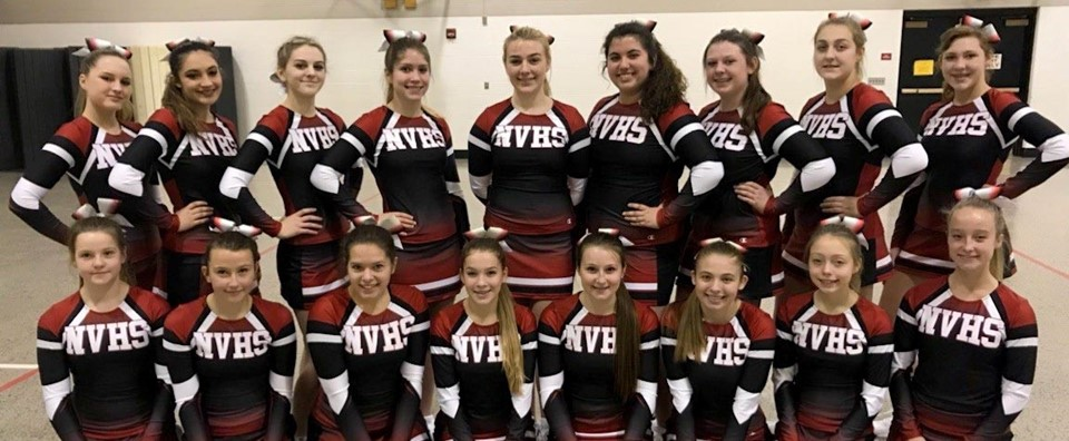Newark Valley Cheerleaders