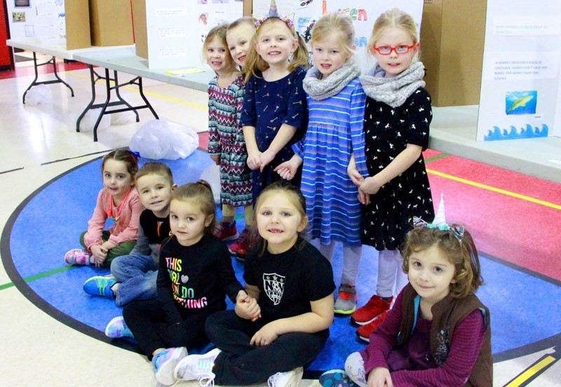 Group of pre-k students at Festival of Learning