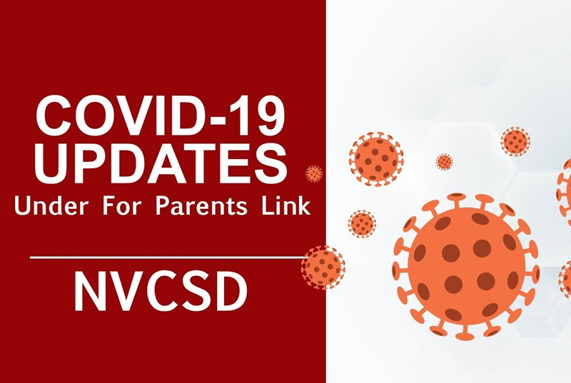 Covid-19 Updates under for parents link