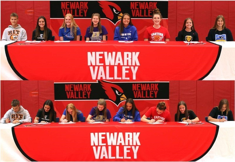 Signing day - Congratulations all!